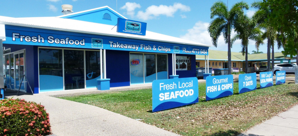 Fish & Chips and Fresh Seafood – Kirwan