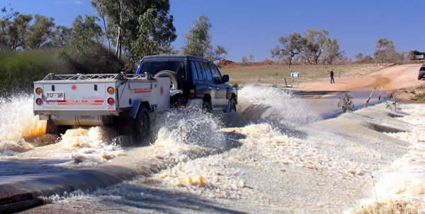 Water-crossing-in-kimberley-off-road-camper-trailer