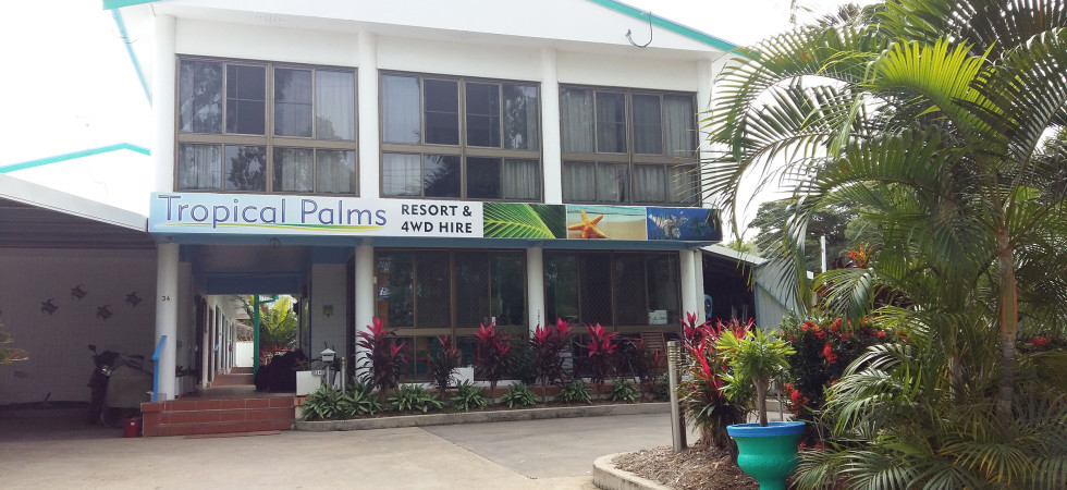 Tropical Palms Resort & 4WD Hire – Magnetic Island
