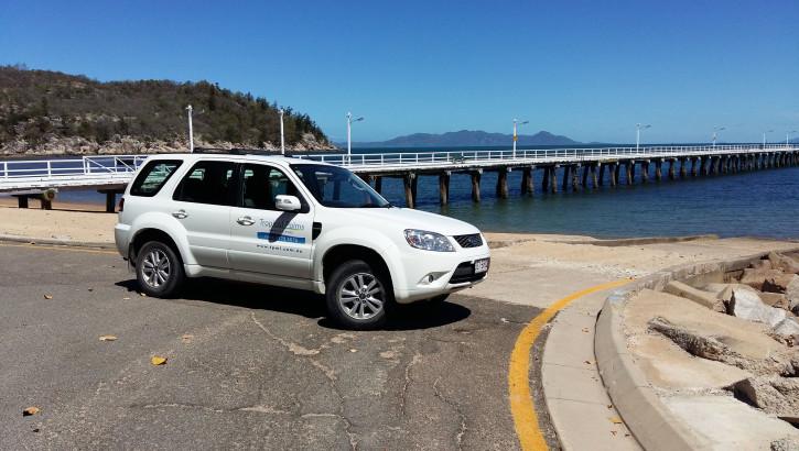 Hire Car at Picnic Bay Jetty