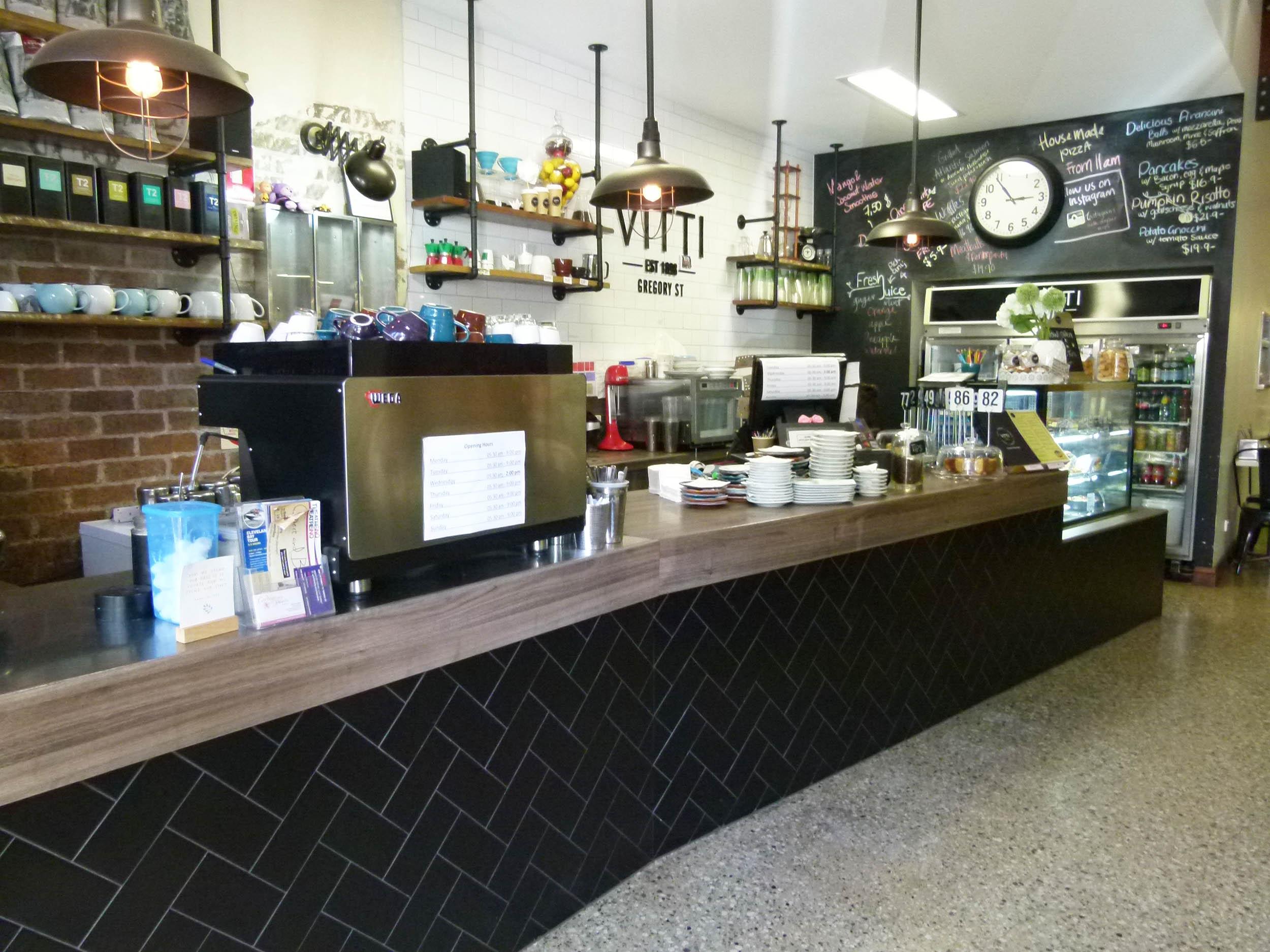 Cafe Bambini Townsville Menu