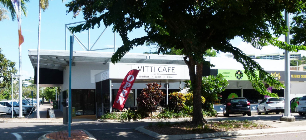 Vitti Cafe on Gregory Street, North Ward