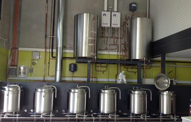 Goanna Brewing - Brewing Area