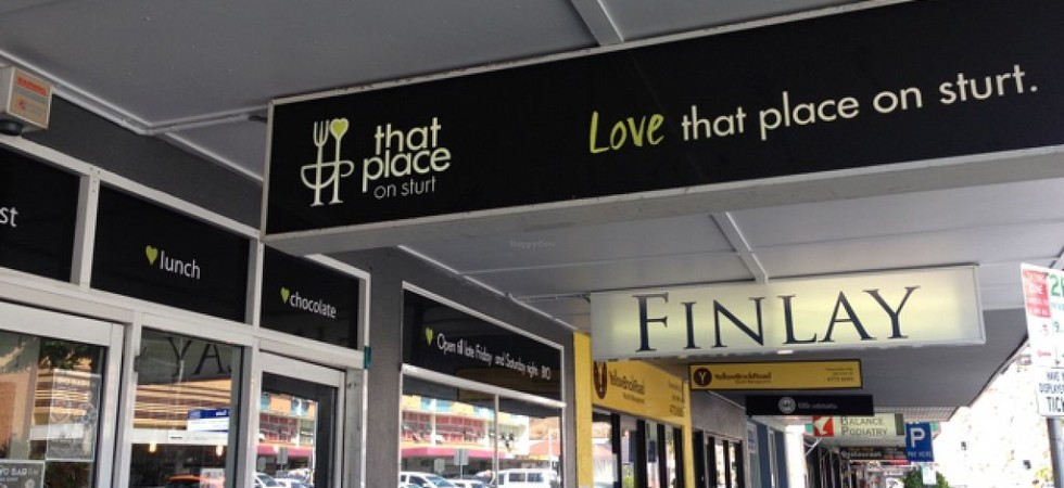That Place On Sturt Cafe – Townsville CBD