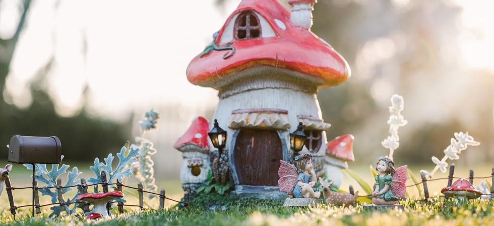 Online E-Commerce Fairy Garden Business
