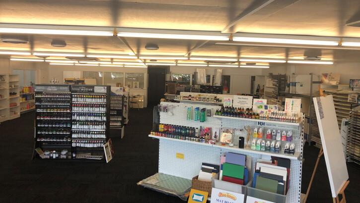 Retail Art Supplies