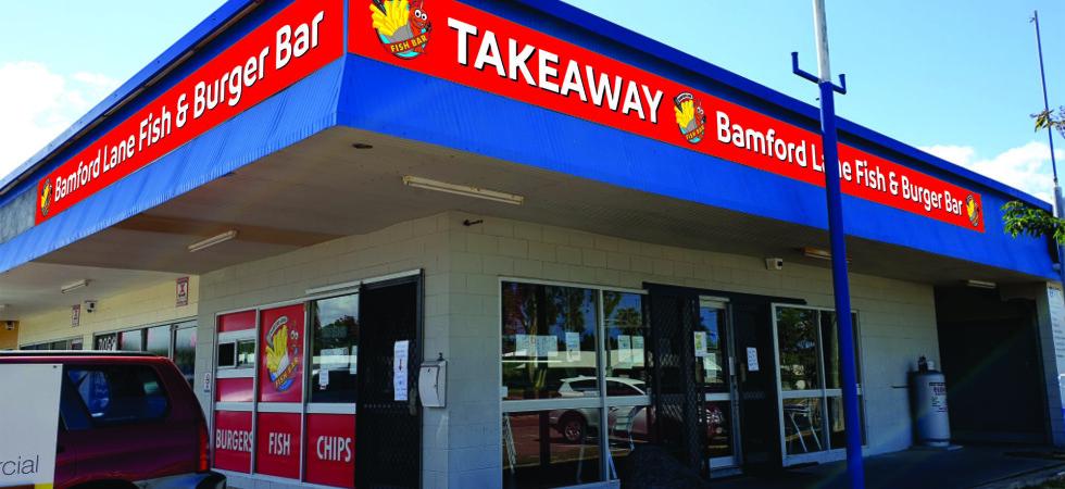 Bamford Lane Fish & Burger Bar – Townsville