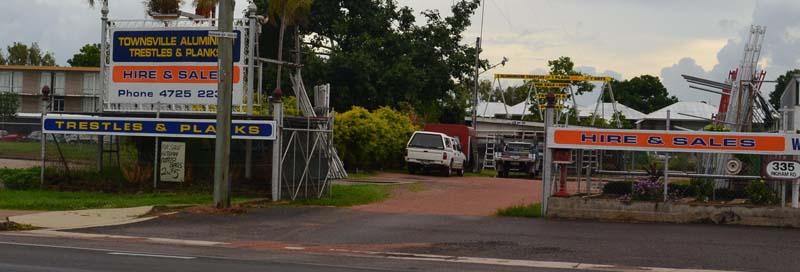 Townsville Aluminium Trestles & Planks